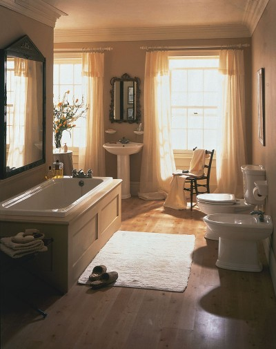 Bathroom Design Idea: European Charm | Bathroom Remodeling Ideas