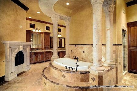 Large bathroom bathroom remodeling ideas showers for Pictures of big bathrooms