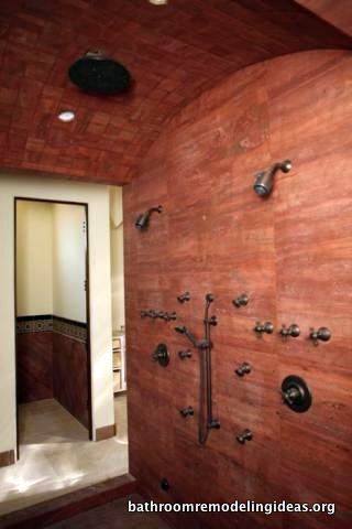 Walk-in Shower Room